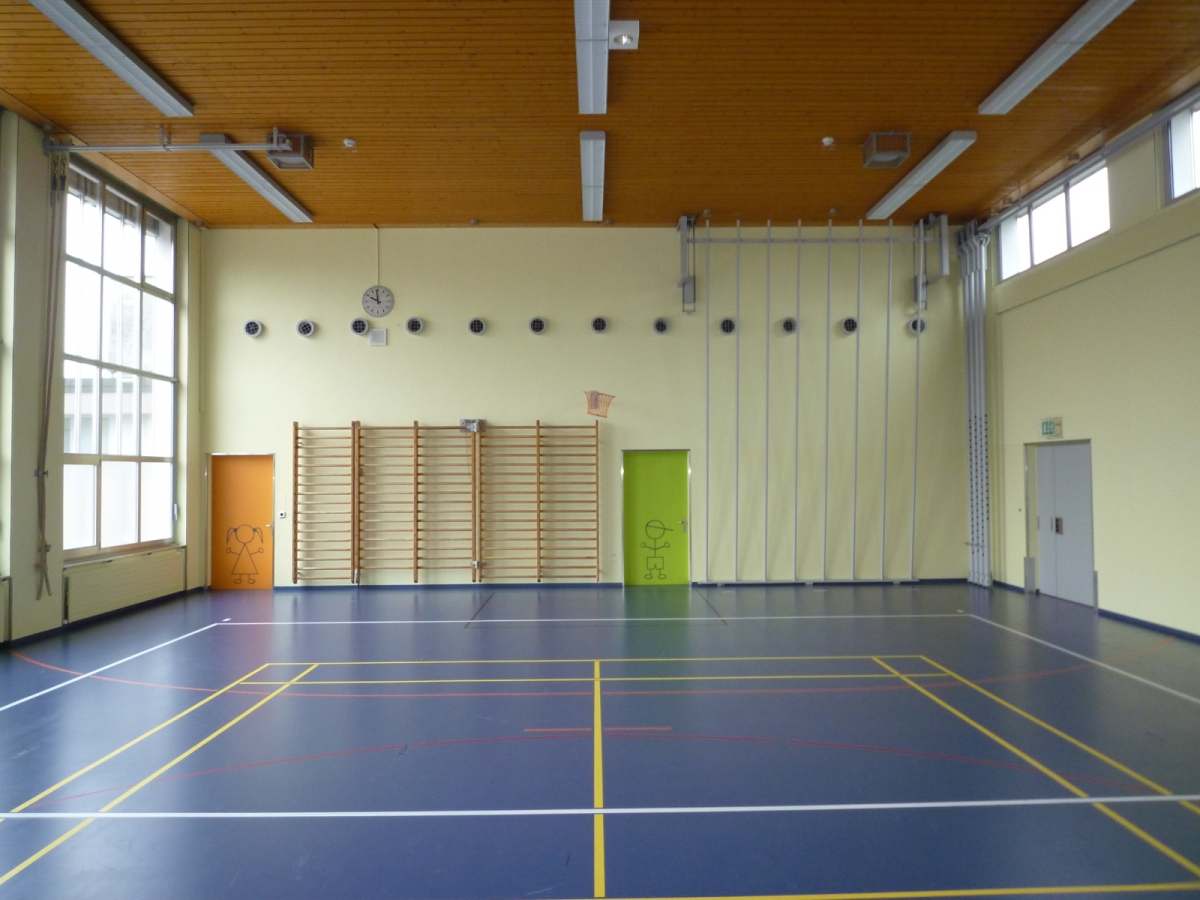 Gretzenbach Renovation Turnhalle