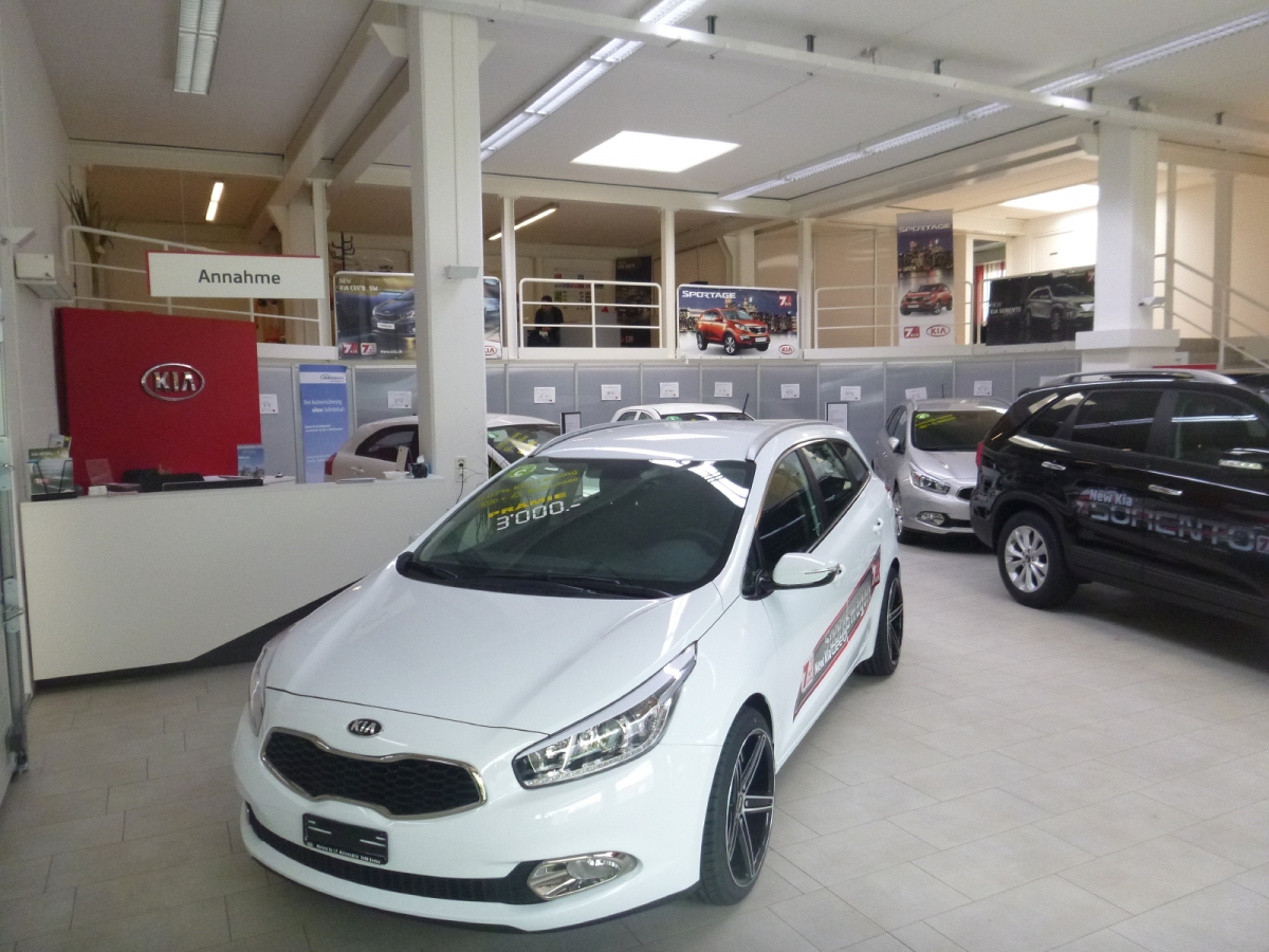 Baden Showroom Autogarage