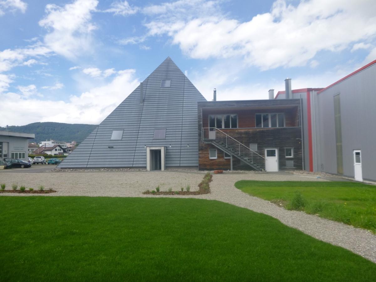 Obergoesgen Umnutzung Pyramide zu Eventhalle