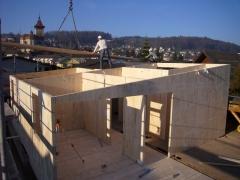 Bauablauf Leno-Holzbau
